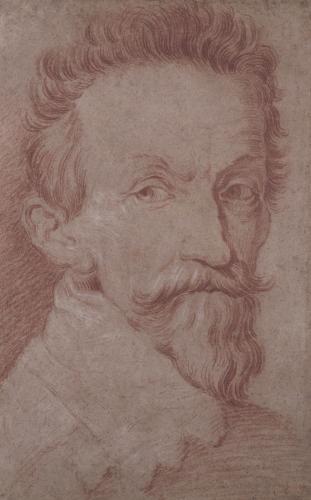 Domenico Fetti (1588/89-1623) Mantua, circa 1620  Portrait of Francesco Andreini (1548-1624)