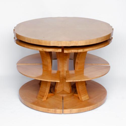 Harry & Lou Epstein art deco nest of tables