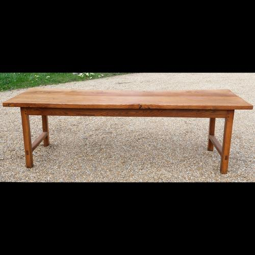 Early 19th Century Elm Farmhouse Table