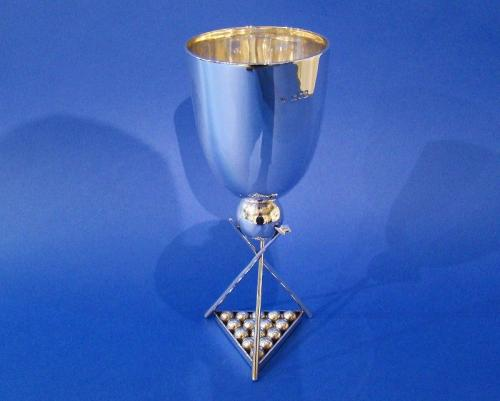 Victorian Silver Snooker Cup/Goblet
