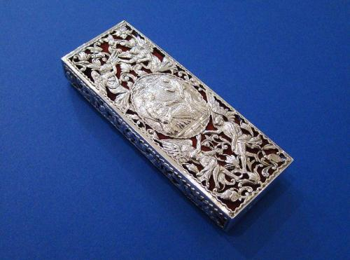 """The Finger Prayer Book"" Silver Cover"