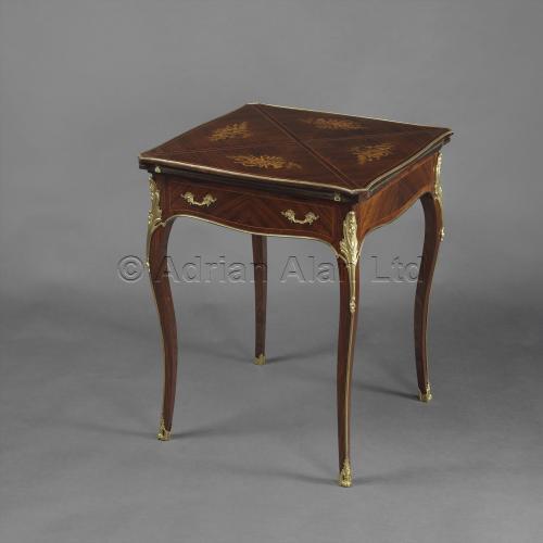Louis XV Style Card Table ©AdrianAlanLtd