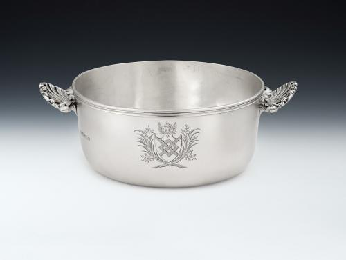 An exceptionally fine & unusual Souffle Dish made in London in 1838 by John Samuel Hunt