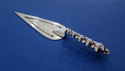 Victorian Silver 'Star Cut-Steel' Bookmark
