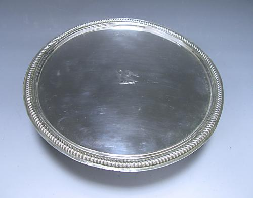 An Antique Sterling William III Silver Tazza