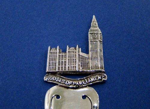 Edwardian Silver 'Houses of Parliament' Bookmark