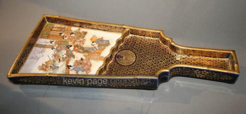 an unusual shaped serving tray