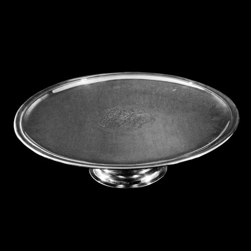 English Antique Britania Silver Tazza