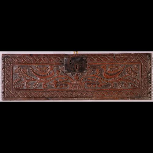 Late 17th Century Carved Oak Panel