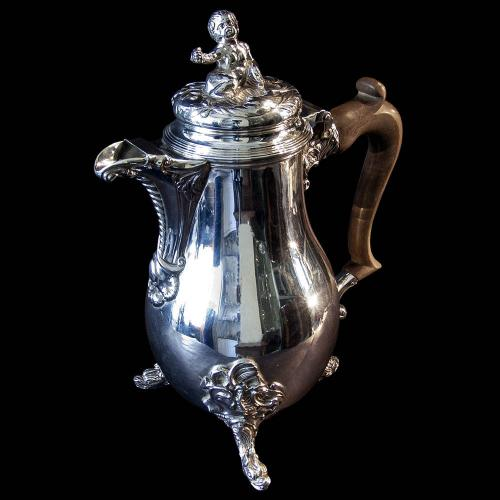 Geo V Covered Silver Jug in the manner of Thomas Germain