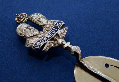 Edwardian Silver 'Crowned 1902' Bookmark