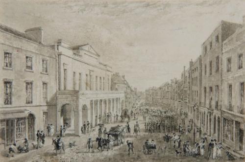 High St, Colchester, Thomas Hosmer Shepherd (British, 1793–1864)