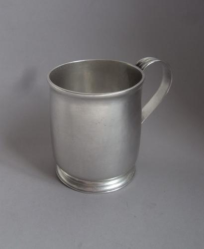 Britannia Standard. A George I Drinking Mug, most probably for a Child or Lady, made in London in 1725 by William Fleming
