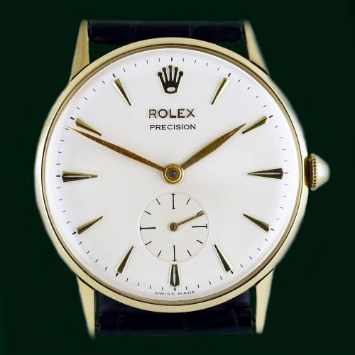 18ct Rolex Precision Wristwatch Circa 1959