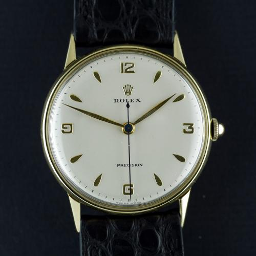 18ct Rolex Precision Wristwatch Circa 1958