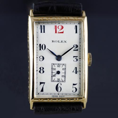 18ct Rolex Art Deco Wristwatch 1927