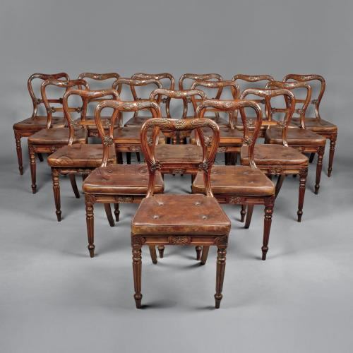 Set of 18 Chairs ©AdrianAlanLtd