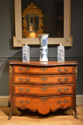 A late 18th Century Dutch Serpentine Commode Circa 1770