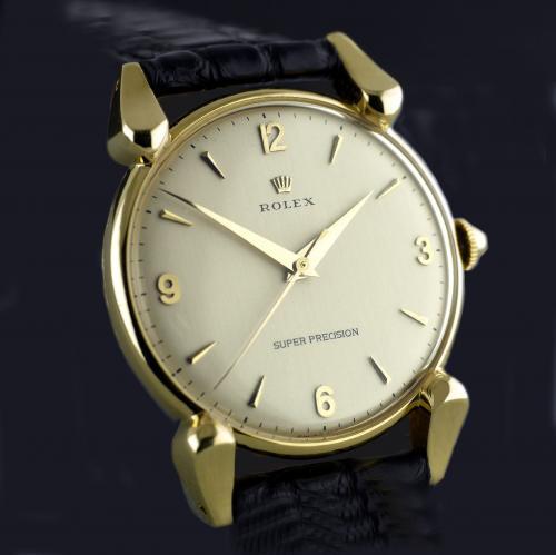 Gold Rolex Super Precision Wristwatch circa 1948