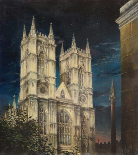 Westminster Abbey - Felix Runcie Kelly (New Zealand 1914-1994)