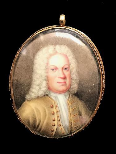 Enamel portrait of a gentleman