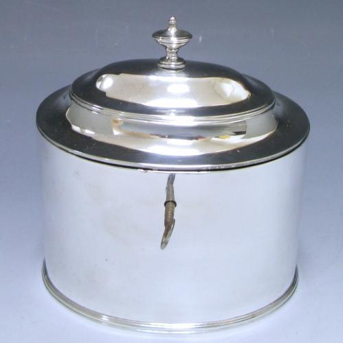 Hallmark Silver Tea Caddy