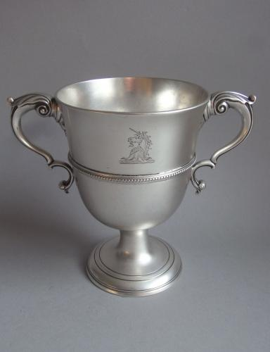 "An exceptional George III ""Beaded"" Two Handled Loving Cup made in Dublin in 1787 by Matthew West"