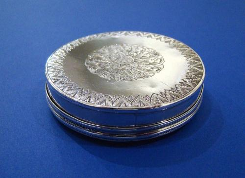17th Century Silver Snuff Box