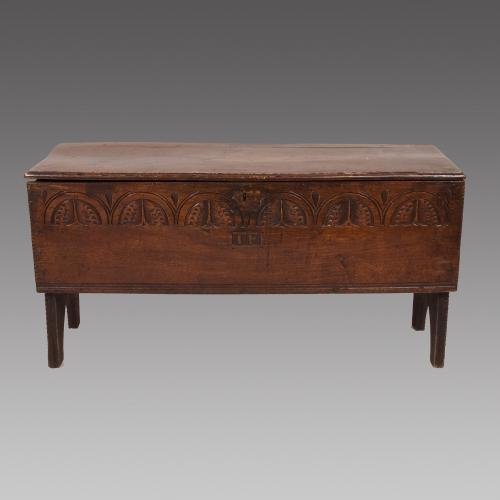 16th Century Six Plank Coffer