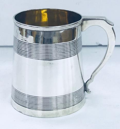 China Trade Silver Mug