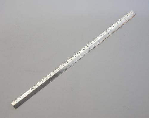 "Edwardian Silver 12"" Ruler"