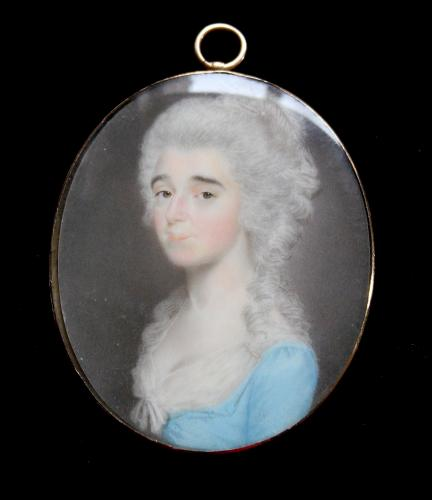 An 18th century portrait of a Lady of Fashion