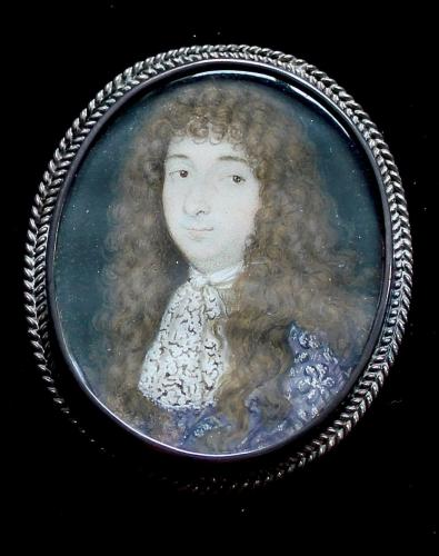 A 17th century miniature of a Nobleman
