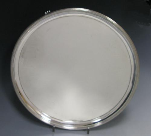 A George III Antique Silver Salver