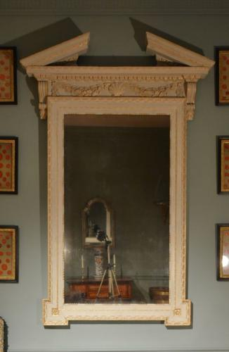A large 18th Century architectural 'Kentian' mirror