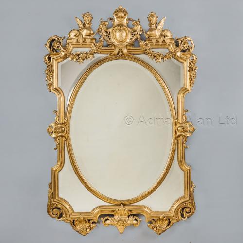 Louis XIV Style Mirror ©AdrianAlanLtd