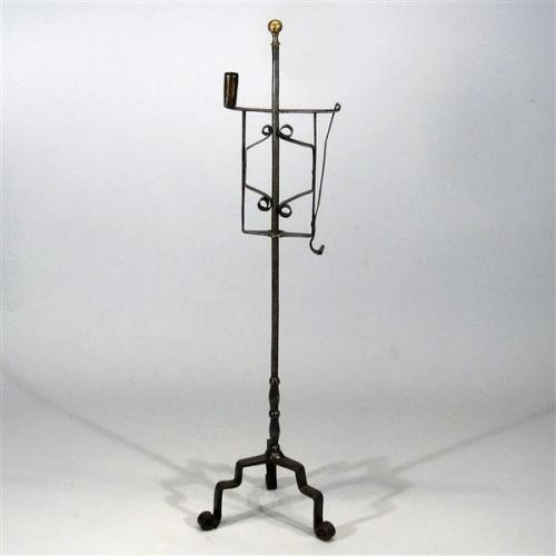 17th Century Continental Antique Candle and Splint Holder