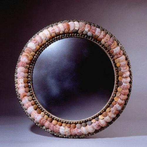 Scallop Shell Mirror