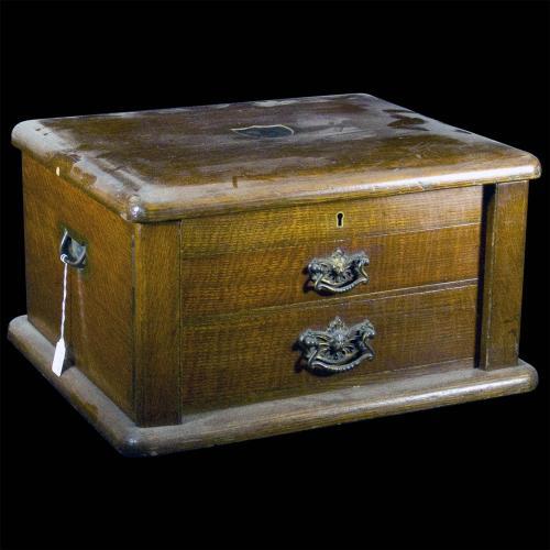 Oak Canteen Box