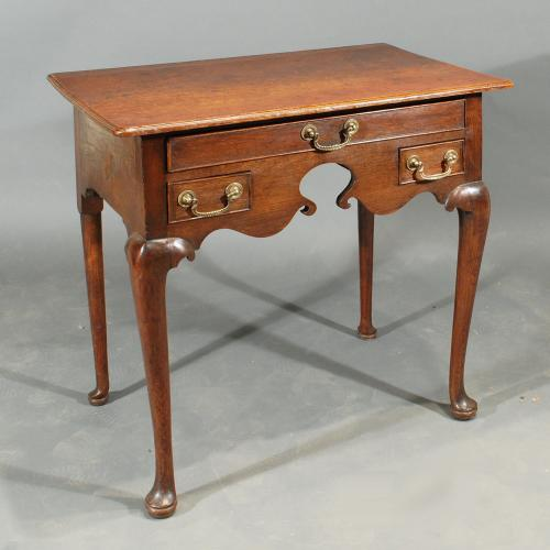 Early 18th Century Oak Lowboy