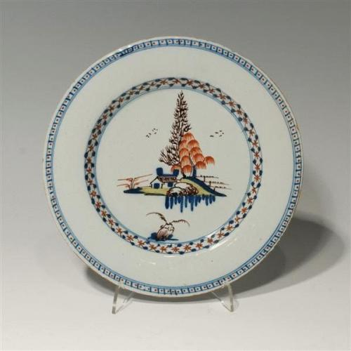 19th Century Lambeth Plate