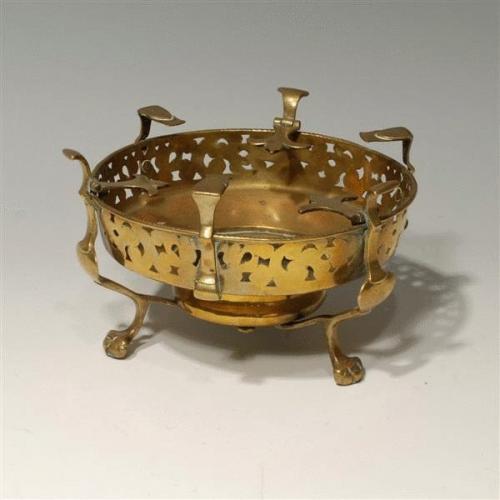 18th Century Brass Brasier