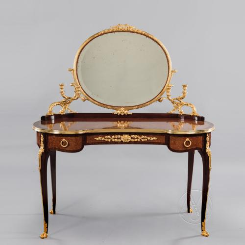 Amboyna Dressing Table ©AdrianAlanLtd