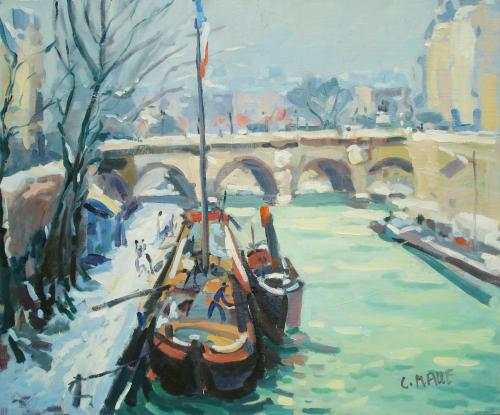 Paris by Charles Malle (b. 1935)