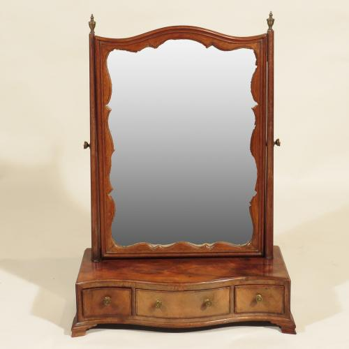 A George III Dressing Table Mirror