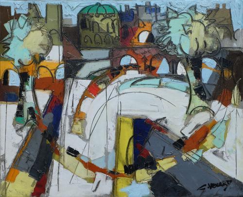 Les Invalides by Claude Venard (1913 – 1999)