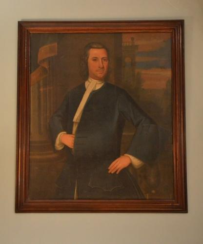 An early 18th Century provincial portrait
