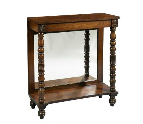 George IV Rosewood Small Console Table