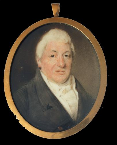 A miniature portrait of an unknown Gentleman