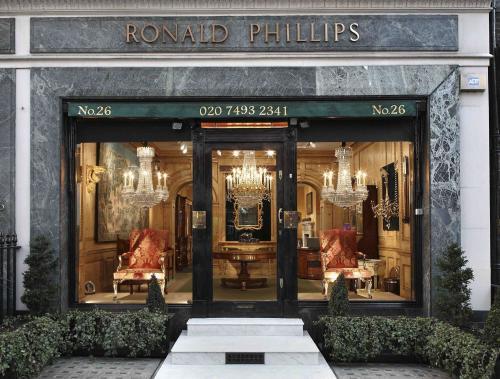 Ronald Phillips Ltd shopfront